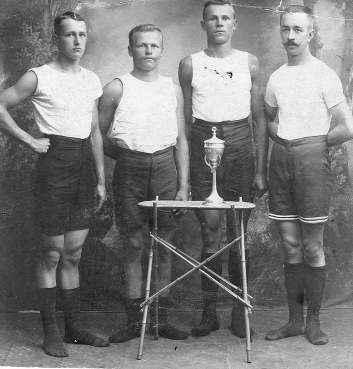 Haapasalmella urheiltiin jo sata vuotta sitten.